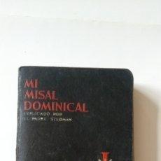 Libros de segunda mano: MI MISAL DOMINICAL 1943. Lote 198378623
