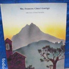Libros de segunda mano: PRIMAVERA A SANT MIQUEL DE TURBIANS - MN.FRANCESC CIMA I GARRIGO - CATALAN - DIBUJOS - 1ª EDICION . Lote 199850763