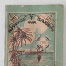 Libros de segunda mano: ALMANAQUE CLAVERIANO PARA LAS MISIONES AFRICANAS 1945. Lote 199908507