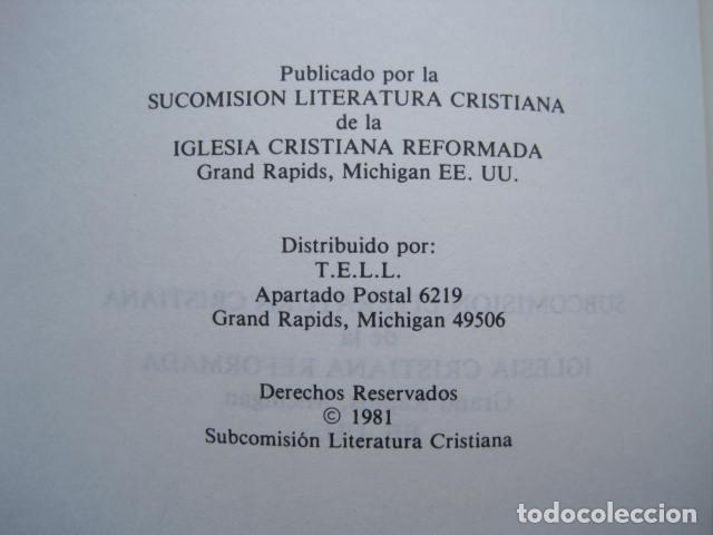 Libros de segunda mano: COMENTARIO DEL NUEVO TESTAMENTO. GUILLERMO HENDRIKSEN. SAN JUAN, MATEO, GALATAS, EFESIOS, FILIPENSES - Foto 6 - 200036688