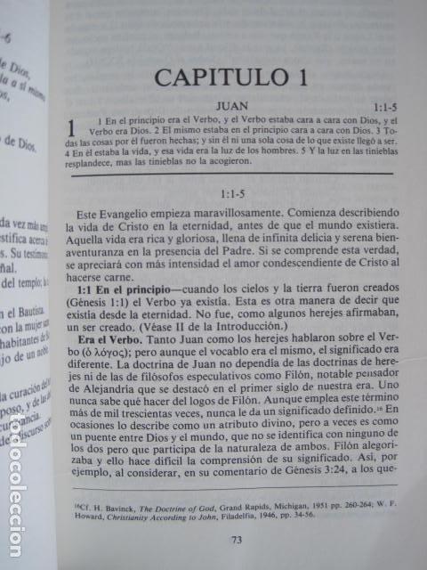 Libros de segunda mano: COMENTARIO DEL NUEVO TESTAMENTO. GUILLERMO HENDRIKSEN. SAN JUAN, MATEO, GALATAS, EFESIOS, FILIPENSES - Foto 8 - 200036688
