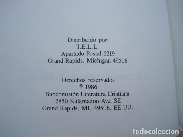 Libros de segunda mano: COMENTARIO DEL NUEVO TESTAMENTO. GUILLERMO HENDRIKSEN. SAN JUAN, MATEO, GALATAS, EFESIOS, FILIPENSES - Foto 14 - 200036688