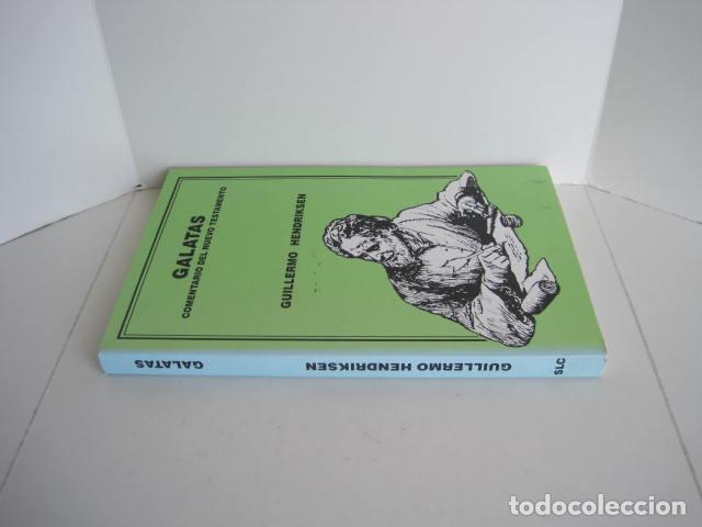 Libros de segunda mano: COMENTARIO DEL NUEVO TESTAMENTO. GUILLERMO HENDRIKSEN. SAN JUAN, MATEO, GALATAS, EFESIOS, FILIPENSES - Foto 18 - 200036688