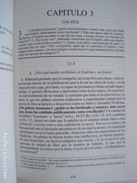 Libros de segunda mano: COMENTARIO DEL NUEVO TESTAMENTO. GUILLERMO HENDRIKSEN. SAN JUAN, MATEO, GALATAS, EFESIOS, FILIPENSES - Foto 24 - 200036688