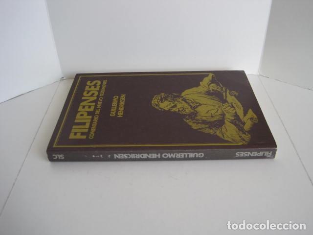 Libros de segunda mano: COMENTARIO DEL NUEVO TESTAMENTO. GUILLERMO HENDRIKSEN. SAN JUAN, MATEO, GALATAS, EFESIOS, FILIPENSES - Foto 32 - 200036688