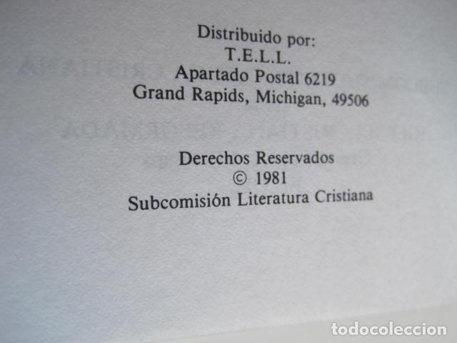 Libros de segunda mano: COMENTARIO DEL NUEVO TESTAMENTO. GUILLERMO HENDRIKSEN. SAN JUAN, MATEO, GALATAS, EFESIOS, FILIPENSES - Foto 36 - 200036688