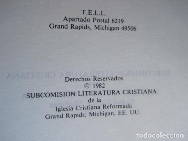 Libros de segunda mano: COMENTARIO DEL NUEVO TESTAMENTO. GUILLERMO HENDRIKSEN. SAN JUAN, MATEO, GALATAS, EFESIOS, FILIPENSES - Foto 39 - 200036688