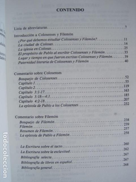 Libros de segunda mano: COMENTARIO DEL NUEVO TESTAMENTO. GUILLERMO HENDRIKSEN. SAN JUAN, MATEO, GALATAS, EFESIOS, FILIPENSES - Foto 40 - 200036688