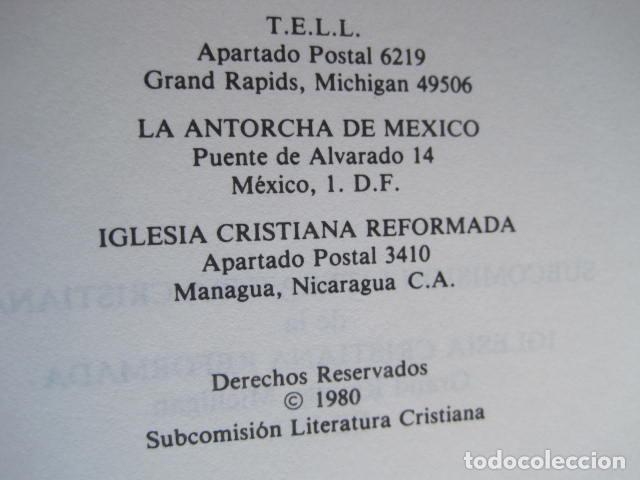 Libros de segunda mano: COMENTARIO DEL NUEVO TESTAMENTO. GUILLERMO HENDRIKSEN. SAN JUAN, MATEO, GALATAS, EFESIOS, FILIPENSES - Foto 46 - 200036688