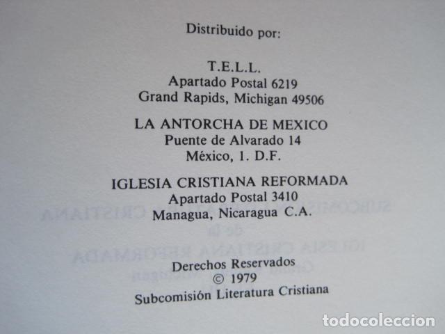 Libros de segunda mano: COMENTARIO DEL NUEVO TESTAMENTO. GUILLERMO HENDRIKSEN. SAN JUAN, MATEO, GALATAS, EFESIOS, FILIPENSES - Foto 53 - 200036688