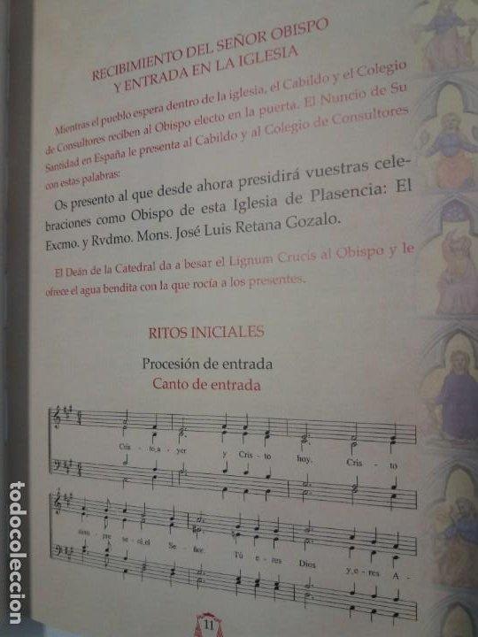 Libros de segunda mano: CURIOSO ORDENACION EPISCOPAL DE UN OBISPO - Foto 11 - 200345520