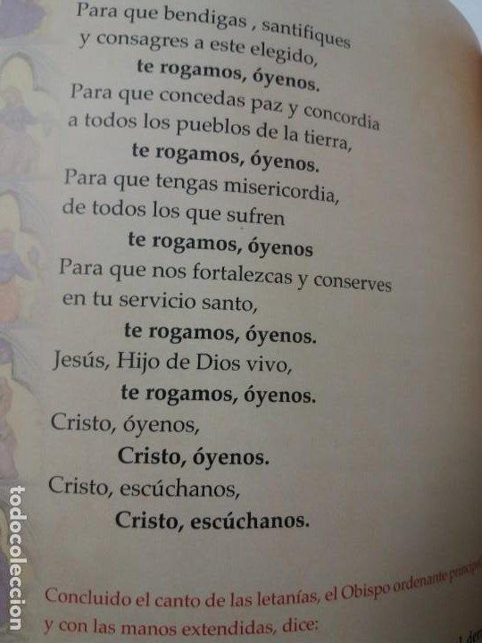 Libros de segunda mano: CURIOSO ORDENACION EPISCOPAL DE UN OBISPO - Foto 30 - 200345520