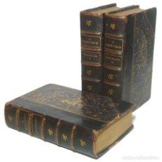 Libros de segunda mano: 1902 - EL ANTIGUO TESTAMENTO COMPLETO EN 3 TOMOS - LA BIBLIA - ENCUADERNACIÓN, PIEL. Lote 200791063