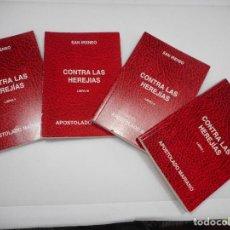 Libros de segunda mano: SAN IRENEO CONTRA LAS HEREJIAS (4 LIBROS) Q476W. Lote 202097307