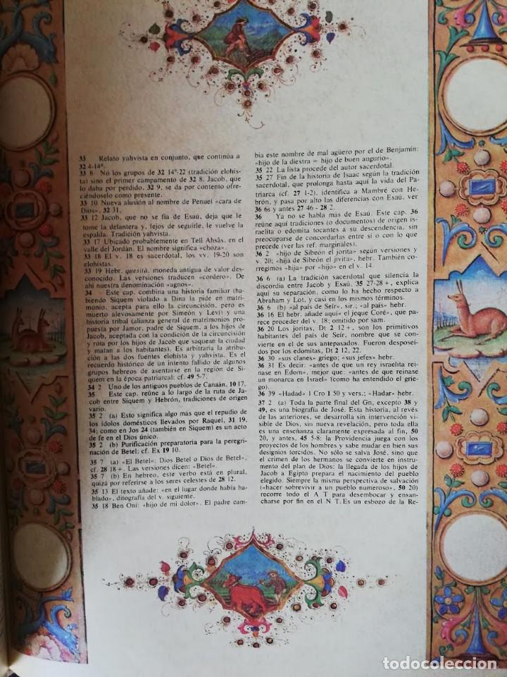 Libros de segunda mano: Gran Biblia de Jerusalen Ilustrada - VOLUMEN I - - Foto 5 - 203070548