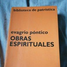 Libros de segunda mano: OBRAS ESPIRITUALES EDITORIAL CIUDAD NUEVA. Lote 214149996