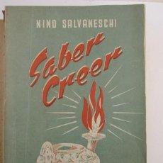 Livros em segunda mão: SABER CREER - NINO SALVANESCHI. Lote 203251475