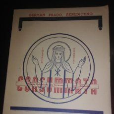 Libros de segunda mano: CONSUMMATA. (M. ANTONIETA DE GEUSER Y GRANDMESON). VIDA Y ESCRITOS. PRADO. 1951.. Lote 203948442