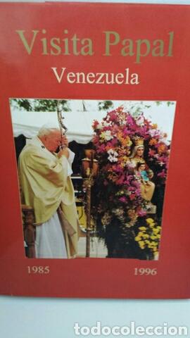 VISITA JUAN PABLO II A VENEZUELA DE MONSEÑOR ALFONSO VAZ (Libros de Segunda Mano - Religión)