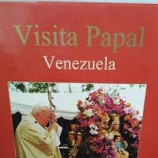 Livros em segunda mão: VISITA JUAN PABLO II A VENEZUELA DE MONSEÑOR ALFONSO VAZ. Lote 204266928