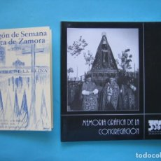 Libri di seconda mano: SEMANA SANTA DE ZAMORA COFRADIA DE JESUS DE NAZARENO MEMORIA GRAFICA + PREGON SEMANA SANTA AÑO 2001. Lote 205036022