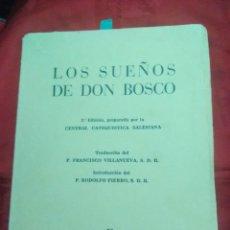 Libros de segunda mano: LOS SUEÑOS DE DON BOSCO. FIERRO. CCS. 1961. 2 ED.. Lote 205079341
