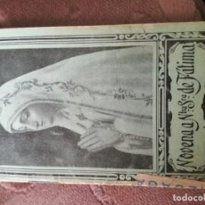 Libros de segunda mano: NUESTRA SEÑORA DE FÁTIMA.. Lote 205374153