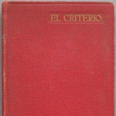 Libros de segunda mano: 1948.- EL CRITERIO. JAIME BALMES, PRO.. Lote 205595658
