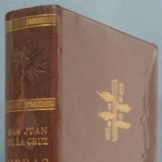 Libros de segunda mano: 1965.- OBRAS. SAN JUAN DE LA CRUZ. VERGARA. Lote 205598470