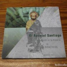 Libros de segunda mano: EL APÓSTOL SANTIAGO Y SU PROYECCIÓN EN LA HISTORIA. 10 TEMAS DIDÁCTICOS. AÑO SANTO 1993. Lote 205836480