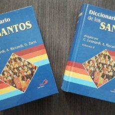 Libros de segunda mano: DICCIONARIO DE LOS SANTOS, CLAUDIO LEONARDI, ANDREA RICCARDI, GRABIELA ZARRI. Lote 205846556