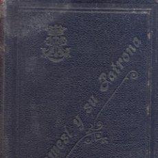 Livres d'occasion: ALGEMESI Y SU PATRONA. AUTOR: DR. D. MIGUEL BELDA FERRE. LR6042. Lote 206300620