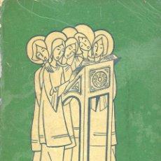 "Libros de segunda mano: ""PSALLITE DOMINO"" COLECCIÓN DE CÁNTICOS RELIGIOSOS, EDICIÓN PRIVADA. LR6050. Lote 207154062"