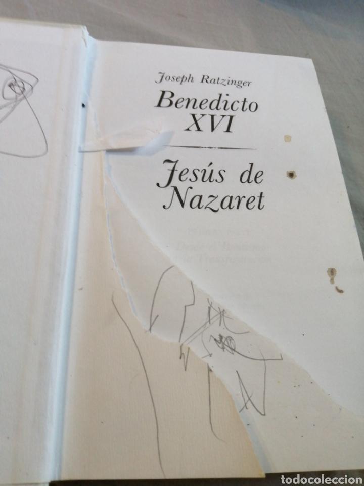 Libros de segunda mano: Benedicto XVI Jesús de Nazaret por Joseph Ratzinger ediciones la esfera - Foto 2 - 207480447