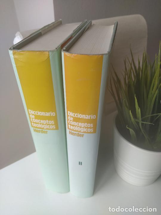 Libros de segunda mano: DICCIONARIO DE CONCEPTOS TEOLÓGICOS TOMOS I Y II COMPLETA - PETER EICHER - HERDER - Foto 2 - 207770840