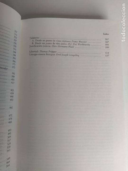 Libros de segunda mano: DICCIONARIO DE CONCEPTOS TEOLÓGICOS TOMOS I Y II COMPLETA - PETER EICHER - HERDER - Foto 6 - 207770840