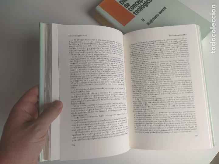 Libros de segunda mano: DICCIONARIO DE CONCEPTOS TEOLÓGICOS TOMOS I Y II COMPLETA - PETER EICHER - HERDER - Foto 7 - 207770840
