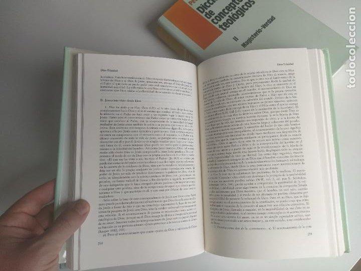 Libros de segunda mano: DICCIONARIO DE CONCEPTOS TEOLÓGICOS TOMOS I Y II COMPLETA - PETER EICHER - HERDER - Foto 8 - 207770840