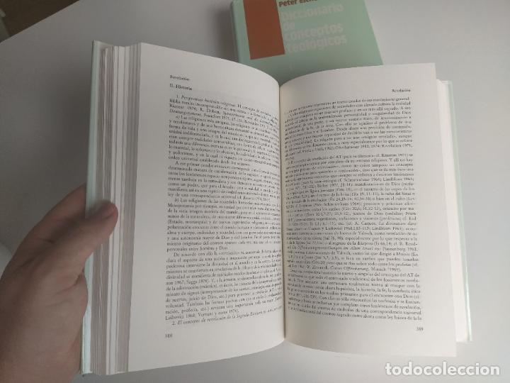 Libros de segunda mano: DICCIONARIO DE CONCEPTOS TEOLÓGICOS TOMOS I Y II COMPLETA - PETER EICHER - HERDER - Foto 12 - 207770840
