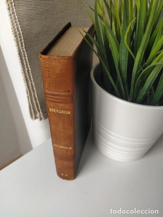 Libros de segunda mano: BREVIARIUM CISTERCIENSE PARS AUTMNALIS 1951 - Foto 2 - 207854257