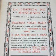 Libros de segunda mano: LA LIMPIEZA NO MANCHADA. Lote 208134855