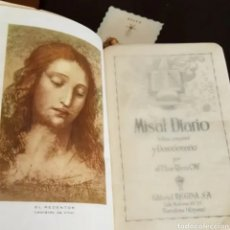Libros de segunda mano: MISAL DIARIO Y DEVOCIONARIO P. RIBERA 1960. Lote 208764732