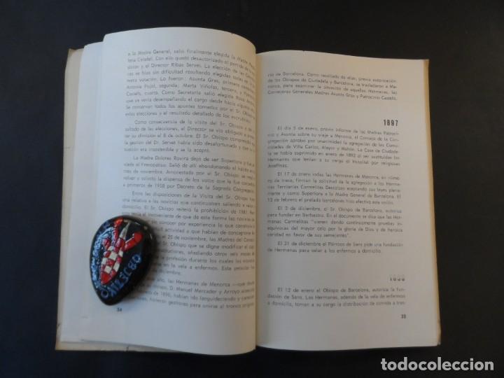 Libros de segunda mano: 100 AÑOS DE VIDA CARMELITANA . P. GREGORIO DE JESUS CRUCIFICADO.CARMELITAS DESCALZAS MISIONERAS 1960 - Foto 3 - 208771030