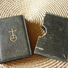 Libros de segunda mano: MINI LIBRO IMITACIÓ DE CRIST DE TOMAS KEMPIS- 1953. Lote 209019485