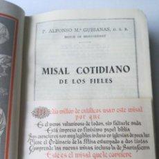Libros de segunda mano: MISAL COTIDIANO DE LOS FIELES. Lote 209084260
