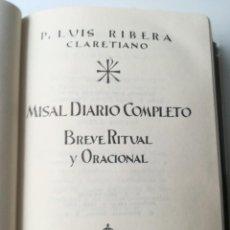 Libros de segunda mano: MISAL DIARIO COMPLETO. Lote 209085280
