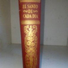 Libri di seconda mano: EL SANTO DE CADA DÍA POR EDELVIVES VI NOVIEMBRE DICIEMBRE EDITORIAL LUIS VIVES ZARAGOZA. Lote 209371963