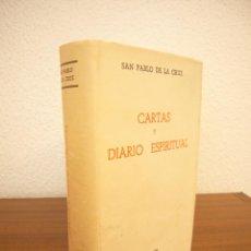 Libri di seconda mano: SAN PABLO DE LA CRUZ: CARTAS Y DIARIO ESPIRITUAL (EDS. EL PASIONARIO, 1968) PAPEL BIBLIA. MUY RARO.. Lote 209561400