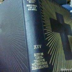 Libri di seconda mano: HISTORIA DE LA IGLESIA DE CRISTO TOMO 9 LA ERA DE LOS GRANDES HUNDIMIENTOS DANIEL ROPS AÑO 1970. Lote 210041903
