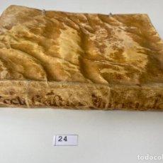 Libros de segunda mano: EL ECLESIÁSTICO INSTRUIDO EN LOS PRINCIPALES MINISTERIOS , HORTIZ DE GARAY , 1752 , SEVILLA. Lote 210229118